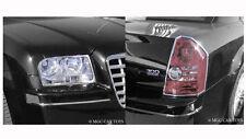 Chrysler 300 2005-2010 Headlight & Taillight Chrome Trim Set (trims only)