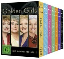 Golden Girls - Komplettbox - 24 DVD - komplette Serie - Staffel 1-7 - NEU&OVP
