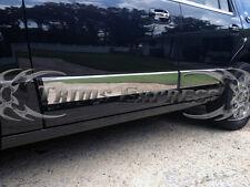 "2007-2017 Lincoln Navigator L Rocker Panel Trim Body Side Moulding- 4pc 6"" wide"