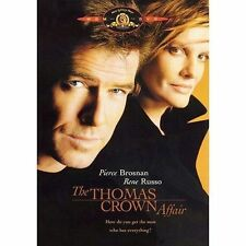 The Thomas Crown Affair DVD Fran Walsh Rene Russo Pierce Brosnan