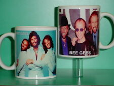 BEE GEES - Barry Robin Maurice Gibb - with 2 Photos - Collectible GIFT Mug