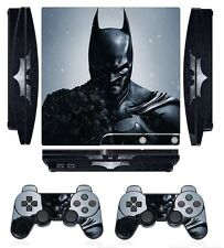 Hero 252 Skin Sticker Cover for PS3 PlayStation 3 Slim and 2 controller skins