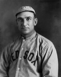 GREAT PORTRAIT OFJAKE STAHL JAKE WAS HOMERUN CHAMP IN 1910 FOR THE RED SOX 8x10