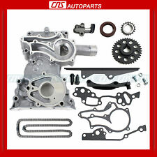 85-95 TOYOTA 22R 22RE TIMING CHAIN COVER KIT HEAVY DUTY METAL STEEL GUIDE PICKUP