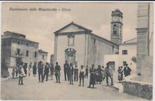 CASTELNUOVO DELLA MISERICORDIA - ROSIGNANO LIVORNO PIAZZA ANIMATA 1927 BELLA !