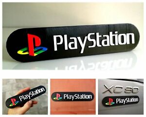 Sony Playstation 3D logo / shelf display / fridge magnet - gaming collectible