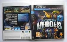 PLAYSTATION MOVE HEROES PS3 UK VERSION COME NUOVO