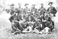 1862-Civil War Photo-Fair Oaks, Henrico County, VA-Horse Artillery Officers
