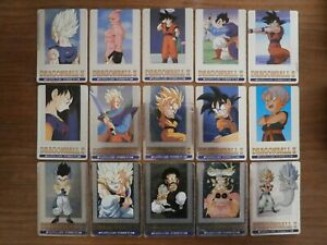 Lot DRAGON BALL Z - Platina Card PC (Hero Collection) Set 15/16 Part.3 - Japan