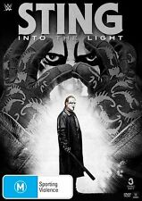 K1 BRAND NEW SEALED WWE Sting - Into The Light (DVD, 2015, 3-Disc Set)