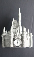 Pewter Disney Cinderella Castle Quartz Clock