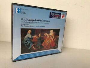 J.-S. BACH Harpsichord concertos AUSTRIA 2CD box SONY KIPNIS-MARRINER