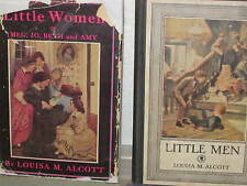 LOUISA MAY ALCOTT 3 HC 1930s ORCHARD HOUSE EDITIONS:ROSE IN BLOOM, LITTLE WOMEN,