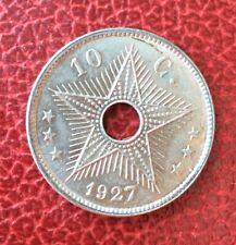 Congo Belge - Albert Ier  - Belgique - Magnifique  10 Centimes 1927 FR