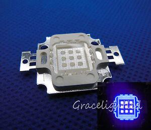 10W High Power LED UV Light Chip 365nm 375NM 385nm 395nm 410nm 430nmUltra Violet