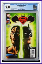 Superman Batman #53 CGC Graded 9.8 DC December 2008 White Pages Comic Book