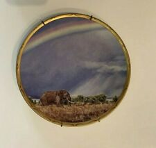 Lenox Elephant Plate King of Plains Collection Rainbow Trail Limited Edition
