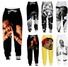 New Casual Men Women Jogger Trousers Funny Rapper 2pac 3D Fitness Sweatpants