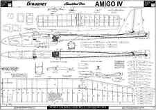GRAUPNER AMIGO MK4 GLIDER PLANS