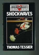 Shockwaves by Thomas Tessier Nightshades (1983,British Hardcover 1st Printing)