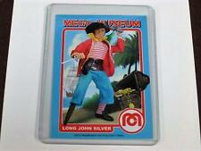 LONG JOHN SILVER THE PIRATE SAILOR MEGO MUSEUM PROMO TRADING CARD