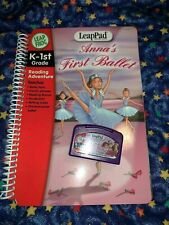 Leap Frog LeapPad ANNA'S FIRST BALLET Book & Cartridge