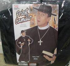 Nero XL WIDMANN Wdm3230p - Costume per Adulti Prete Camillo Giocattolo (otb)
