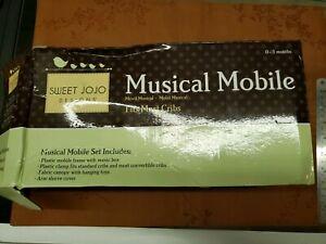 Sweet Jojo Designs Musical Mobile, Purple, White, Grey 0-5 months