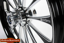 Southern Black Legend Front 18X3.5 Custom Wheel Harley Touring Dual W/O ABS