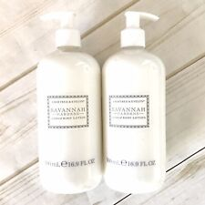Crabtree & Evelyn Savannah Gardens Scent Body Lotion (x2) 16.9 oz. DISCONTINUED