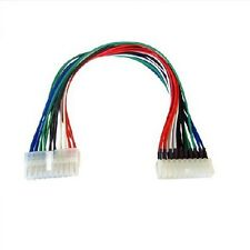 ATX 20 Pin Female to 20 Pin Male Internal PC PSU Power Extension Cable