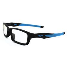 2c07d49b09 Oakley Glasses Frames Crosslink 8027-01 Satin Black   Sky Blue