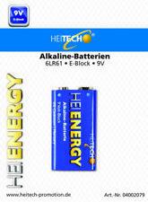 9 V ohne Angebotspaket Einweg-Batterien für den Haushalt