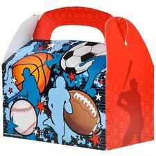 12 SPORTS TREAT BOXES SOCCER FOOTBALL BASEBALL Loot Goody Bag #ST35 FREE SHIP
