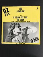 "U2 R.O.K. 12"" Vinyl EP EX/EX 600 417 1st Press 1981 Germany Johnny Swallow label"