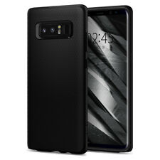 Samsung Galaxy Note 8 Spigen® [Liquid Air] Shockproof Black Case TPU Cover