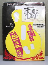 """Guitar Hero Faceplate """"Sex Pistols"""" for Xbox 360 and PS3 NEW IN BOX"""