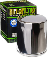 HifloFiltro Replacement Motorcycle Oil Filter (Chrome) HF171C