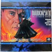 DARKMAN II The Return Of Durant LASERDISC Sealed NEW 90s Horror Action LD Movie