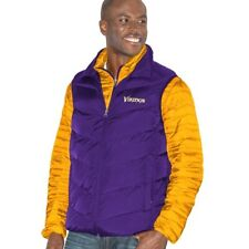 G-III Official NFL Minnesota Vikings 3 in 1 Jacket/Vest Combo - Size 4XL - NWT