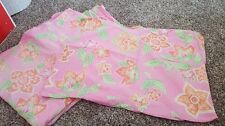 Pottery Barn Teen Twin Pink Floral Duvet And Sham Set