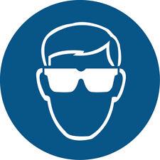 Indossare occhiali di sicurezza simbolo VINILE AUTOADESIVO ADESIVI SAFETY
