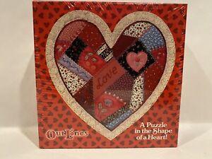 Springbok SOMEBODY LOVES YOU! 150 Piece HEART Shape Jigsaw Puzzle SEALED Vintage