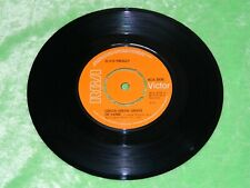 "ELVIS PRESLEY : Green green grass of home -original 1975 UK RCA Victor 7"" EX 198"