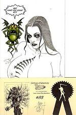 Tarot Witch of the Black Rose 83 SKYCLAD 30/150 Jim Balent COA NM FREE UK POST