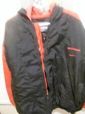 Vintage Logo Tampa Bay Buccaneers Quilted Jacket Hoodie w/2 Hoods