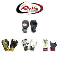 Raja Boxing Gloves Fancy Muay Thai Kick Boxing K1 MMA Gloves 8 10 12 14 16 oz