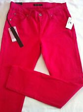 Women's James Jeans Twiggy The Legging Skinny Jeans 28 NWT Fuchsia Made In USA