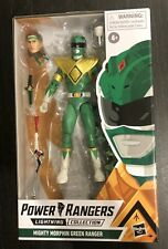 Power Rangers Lightning Collection *Mighty Morphin' Green Ranger Brand New