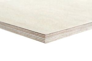 Birch Plywood - Baltic Birch Ply Wood 18mm Thickness - Sizes in Millimetres
